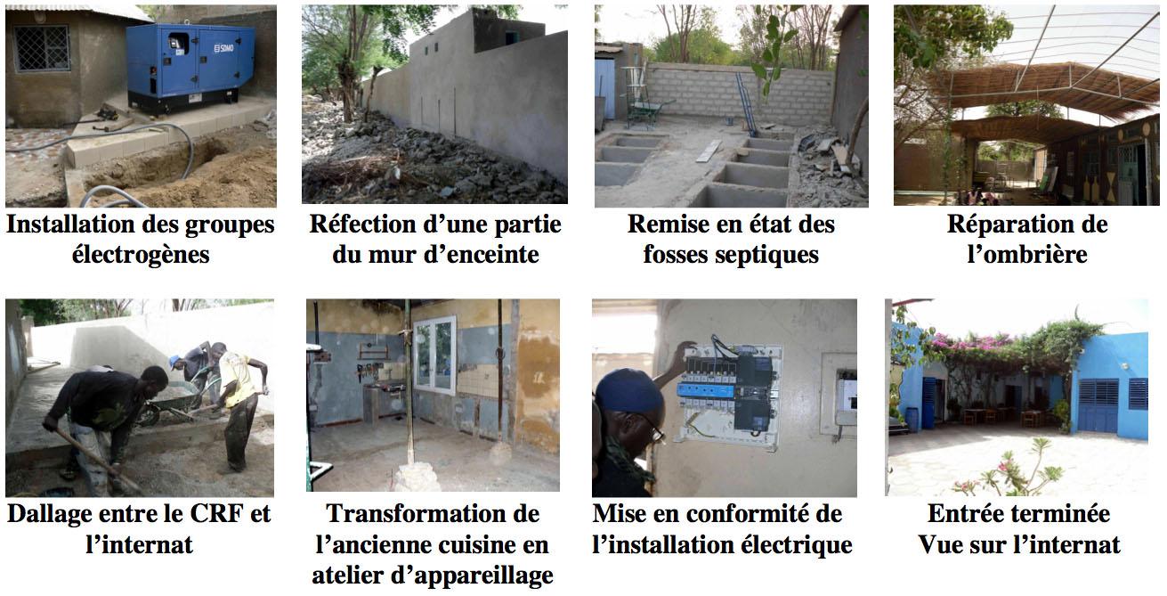 Rénovation des locaux
